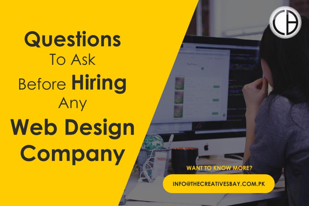 Questions to ask before hiring a web designer or web design company